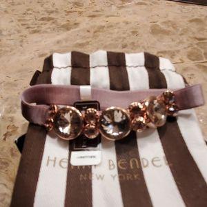 Henri Bendel Rose Gold Hair Tie - NWT